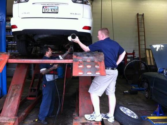 Installing the Magnaflow 14829
