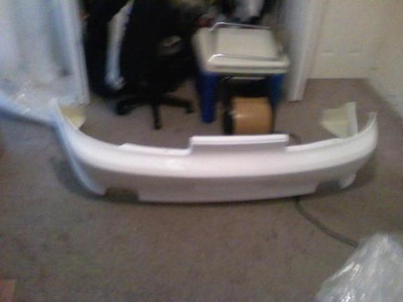 rear body kit bumper