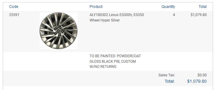 2019 Lexus ES Noise Reduction Wheels on 4GS - ClubLexus