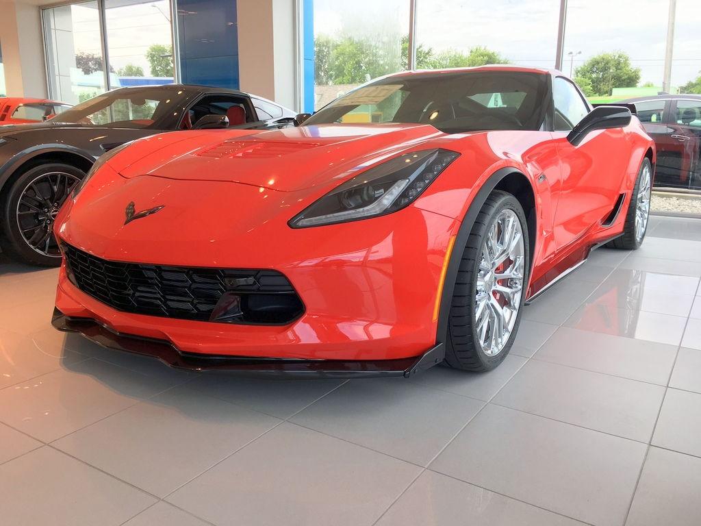 Jeff Schmitt Auto Group >> 2018 Corvette Z06 - Torch Red, Auto, Chrome Wheels, 2LZ, and More! 937-207-0117 - CorvetteForum ...