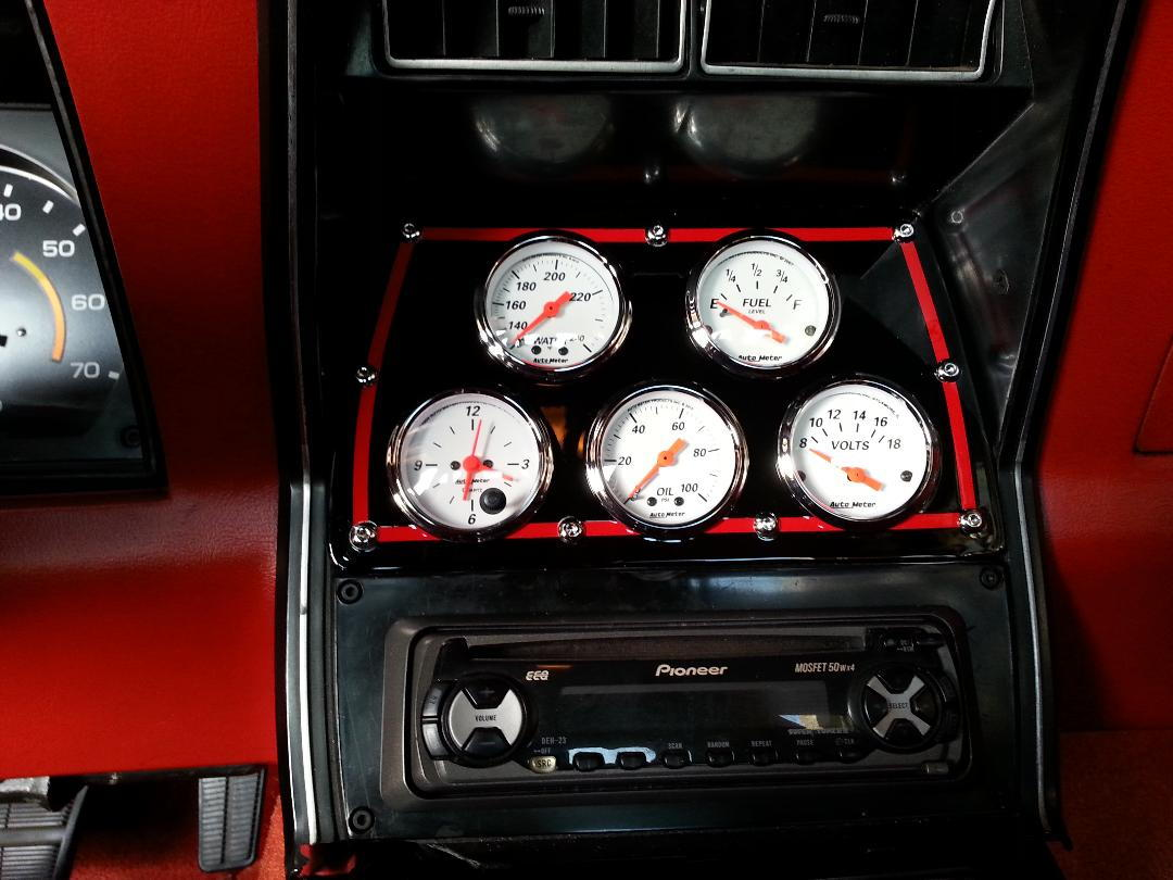 1980 New Gauge Cluster - Corvetteforum