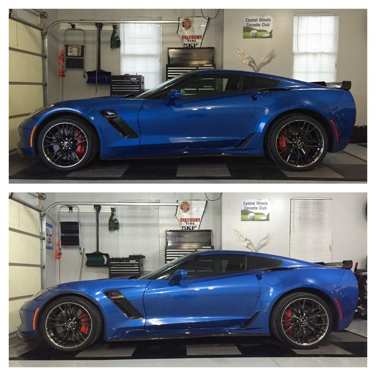 "Corvette Zo7 >> Lowering Z07 on stock bolts?? 3/4"" max??? - Page 2 - CorvetteForum - Chevrolet Corvette Forum ..."