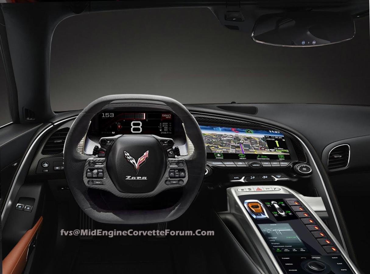 2020 C8 Interior Photo Corvetteforum Chevrolet Corvette Forum