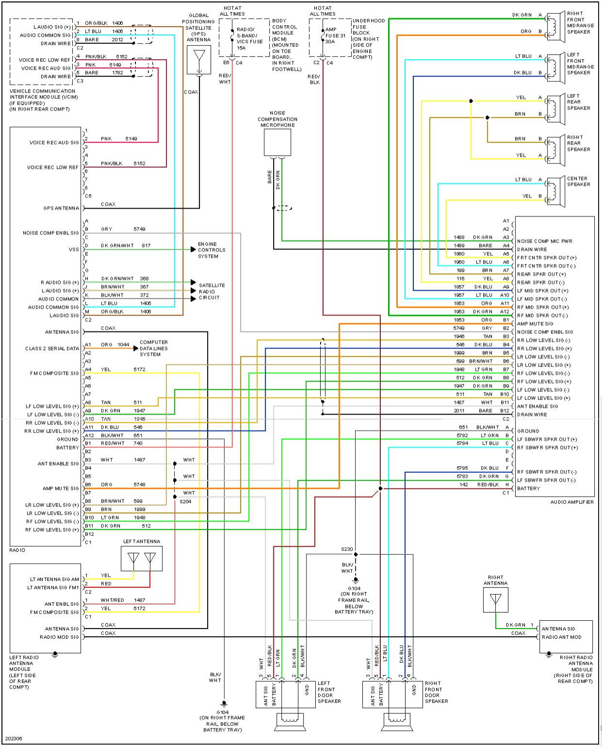 c6 corvette stereo wiring diagram 33 wiring diagram images rh cita asia