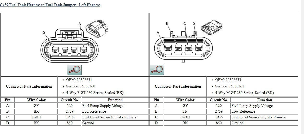 Need A Wiring Diagram Right Fuel Tank Harness