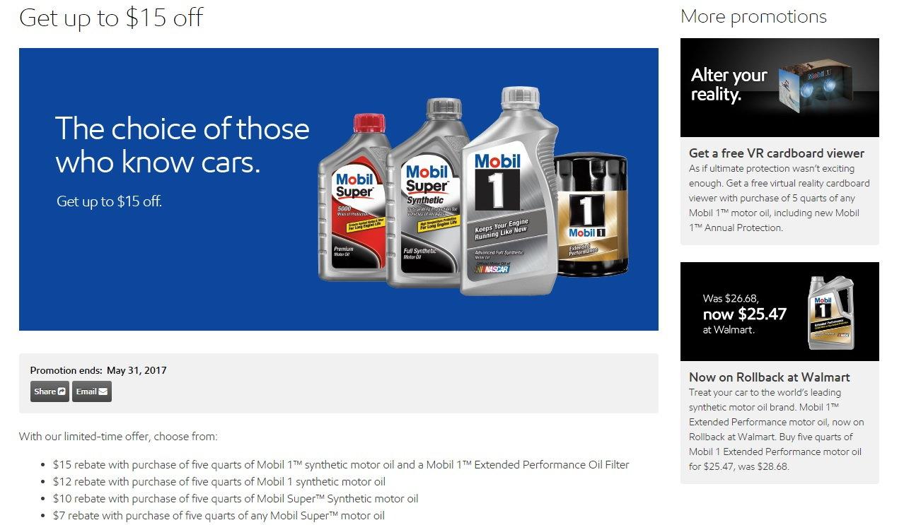 Mobil 1 Rebate >> Mobil 1 Rebate Corvetteforum Chevrolet Corvette Forum