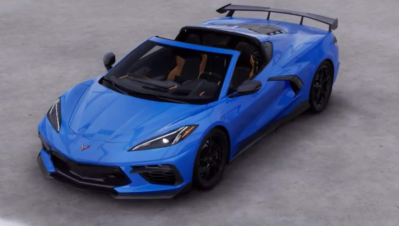 The Mystery Of Rapid Blue Corvetteforum Chevrolet Corvette