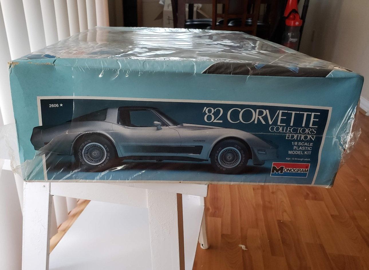 1982 corvette 1:8 scale model - CorvetteForum - Chevrolet