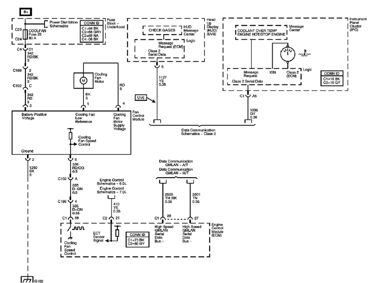 C6 Z06 Cooling Fan Wiring Diagram - Corvetteforum
