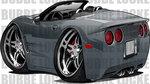 Corvette Car Toons