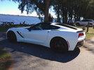 2015 Arctic White Stingray Coupe