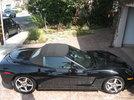 2007 Black Chevy Corvette
