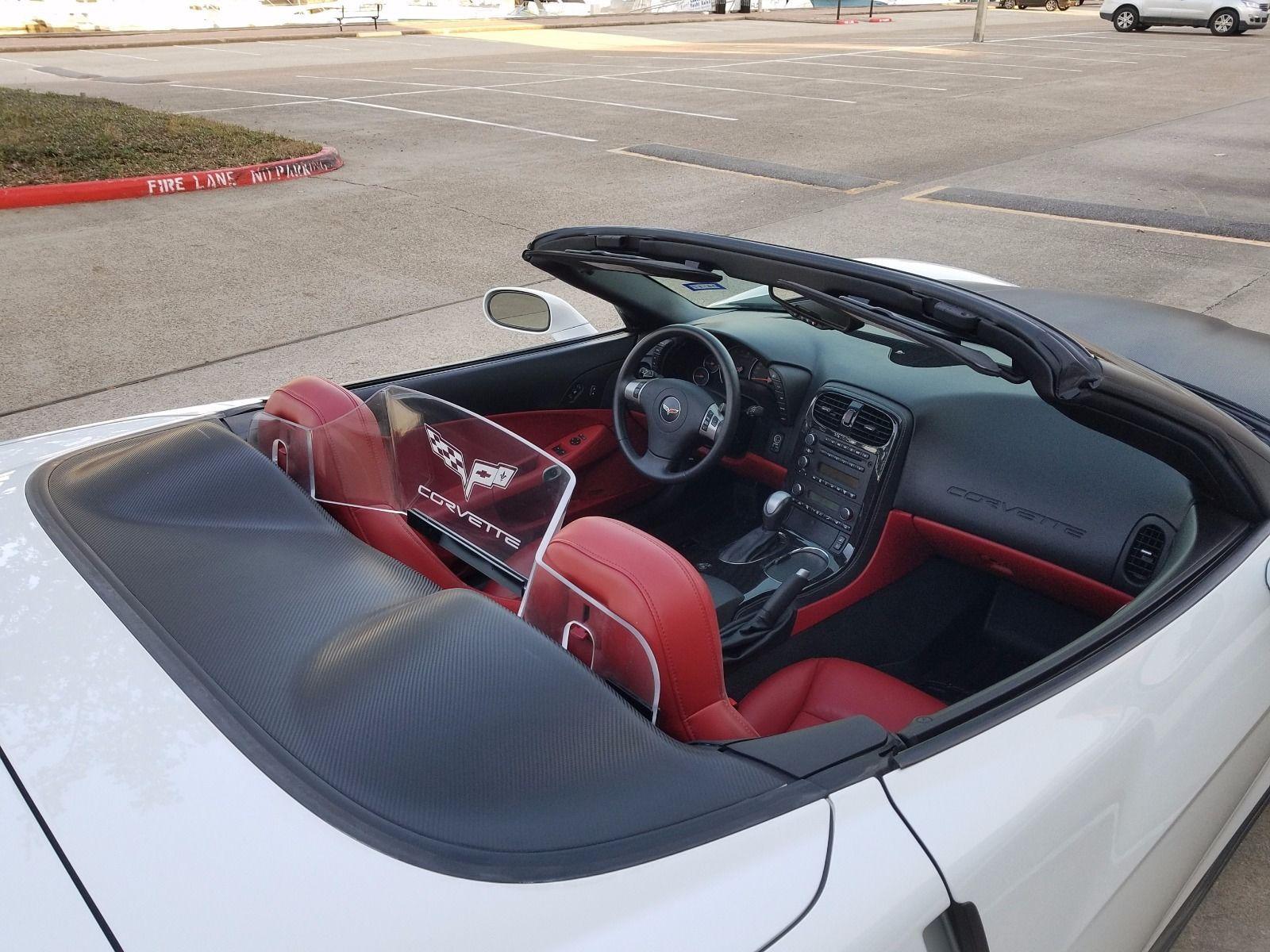 Fs For Sale 2011 Grand Sport Convertible White With Red Interior Cam Auto Corvetteforum
