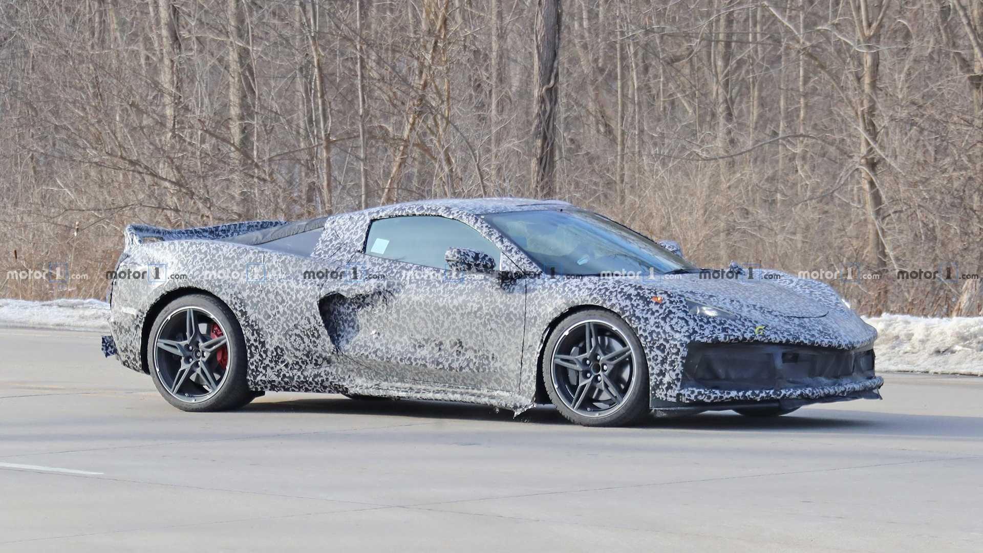 New wheel option for the mid engine C8 Corvette ...
