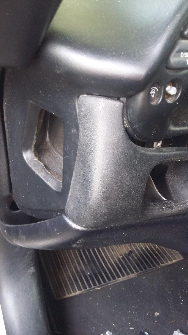 Easy knee bolster repair - CorvetteForum - Chevrolet