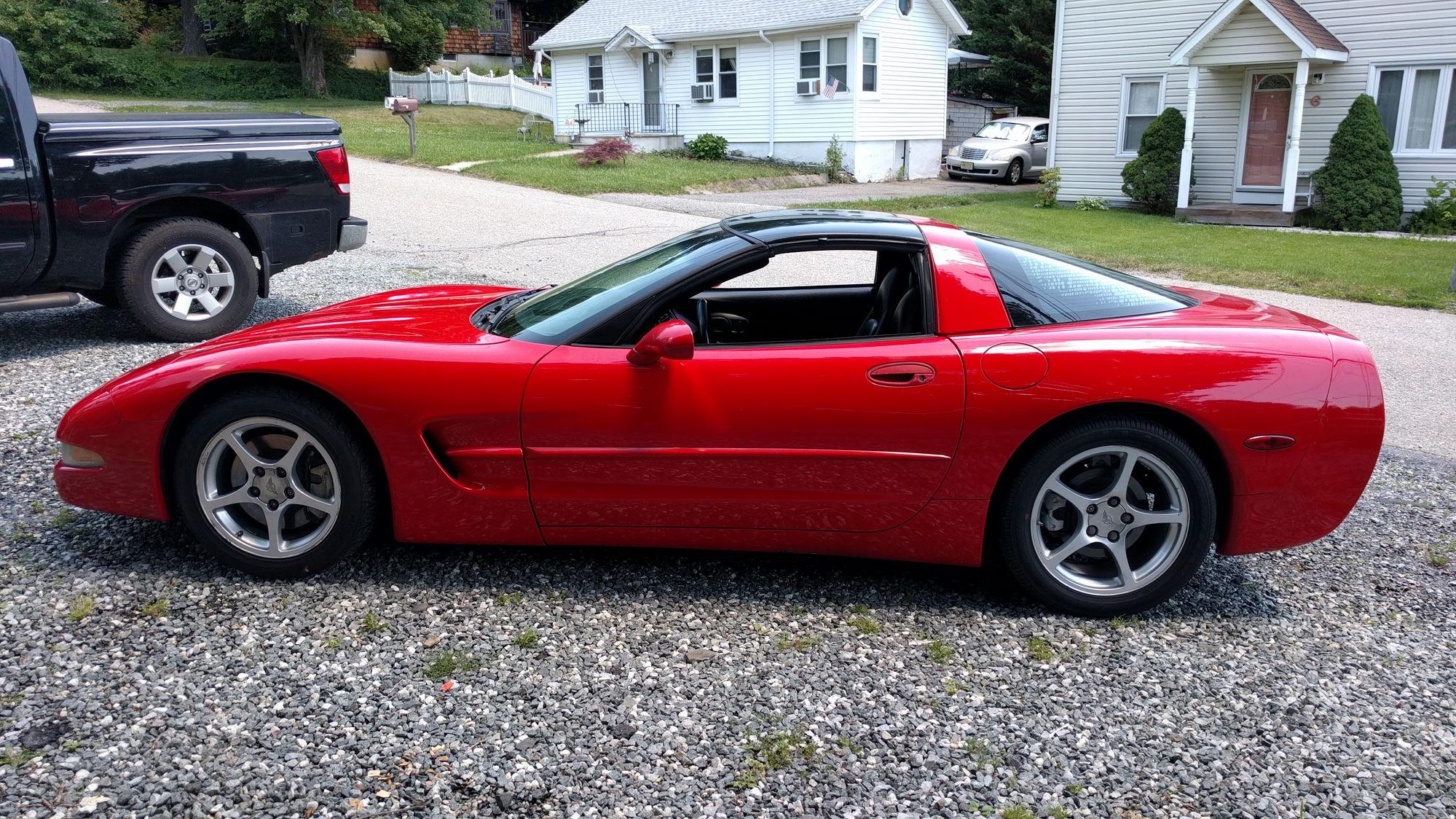 FS: 2000 Corvette Targa Torch Red NJ - $9100 ...