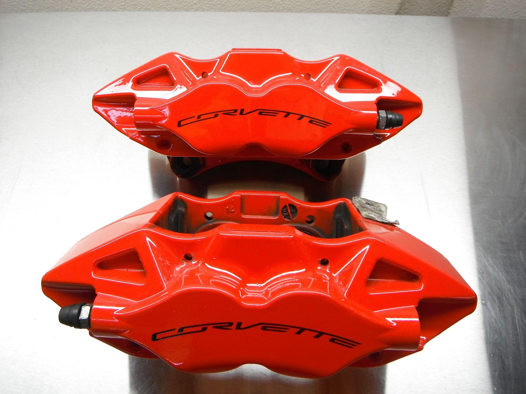 Brakes Plus Near Me >> FS (For Sale) Z51 Brake Kit, Red Calipers, Rotors, Pads, Hardware - CorvetteForum - Chevrolet ...