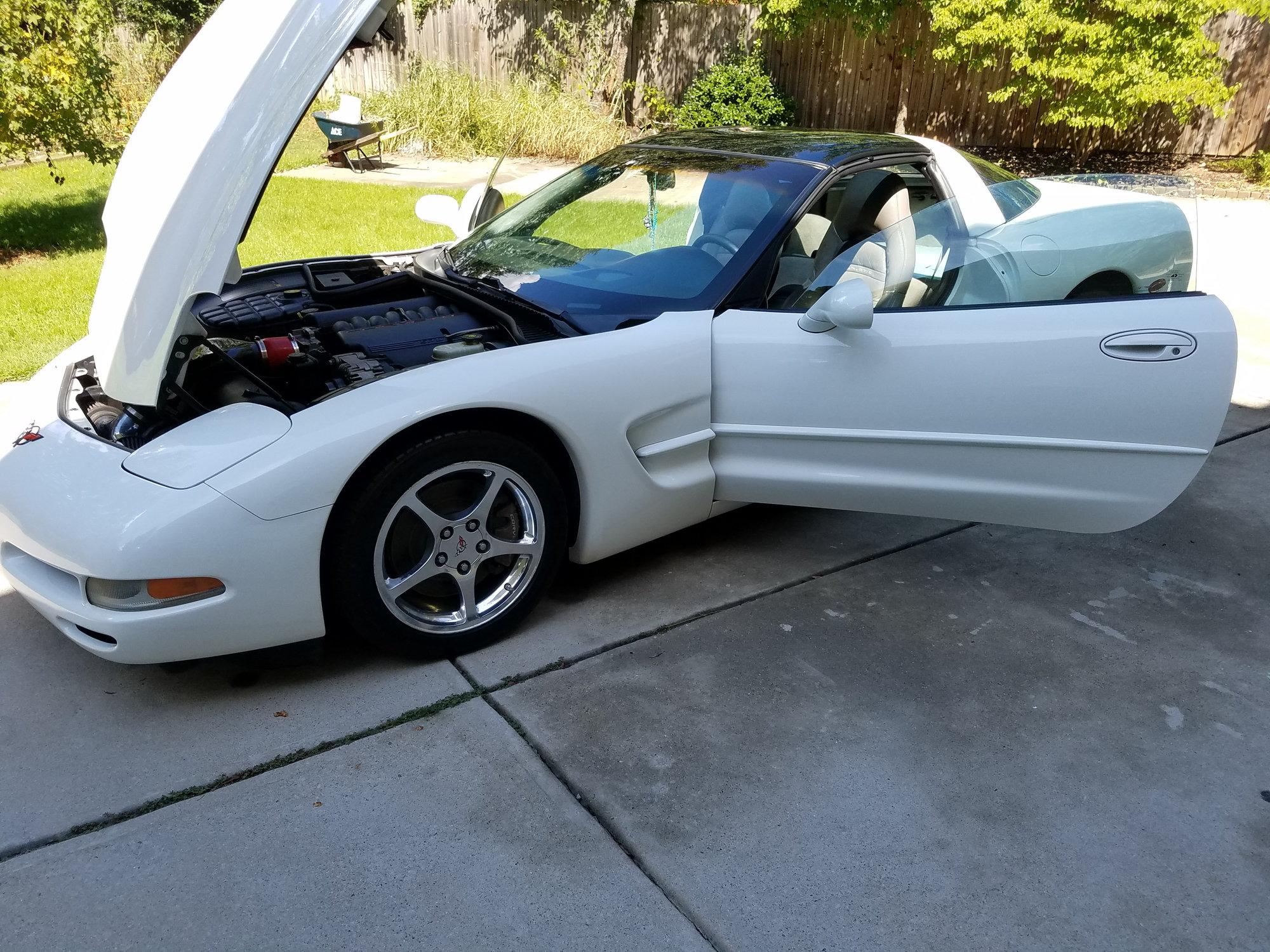 Fs  For Sale  2004 White Corvette Coupe - Corvetteforum