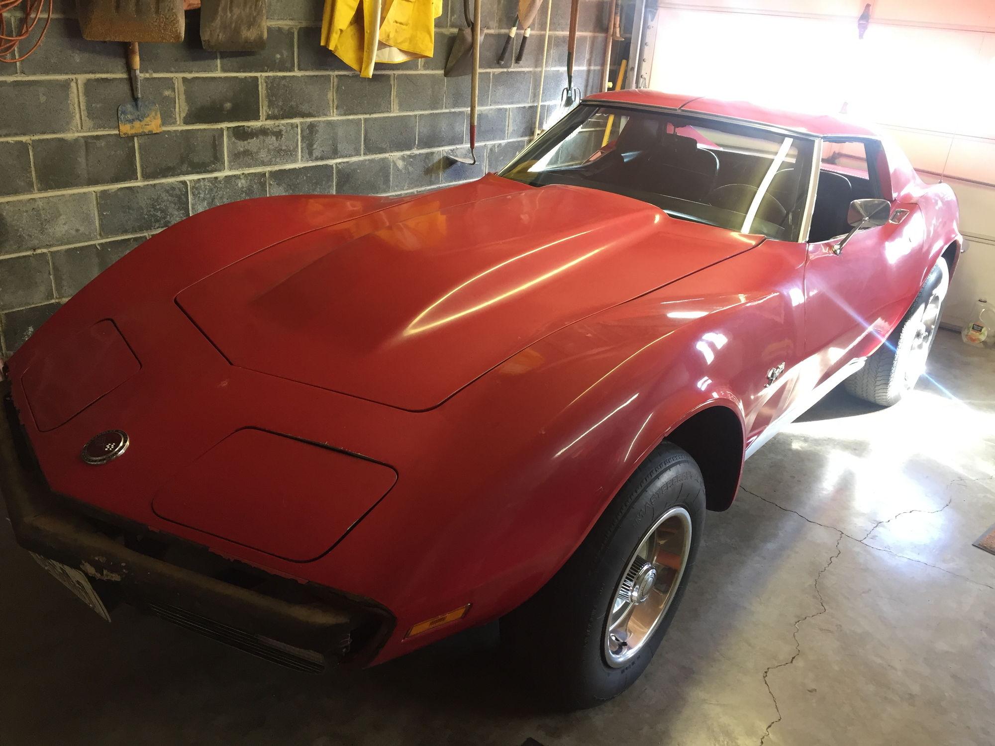 fs for sale 1973 coupe project corvetteforum. Black Bedroom Furniture Sets. Home Design Ideas