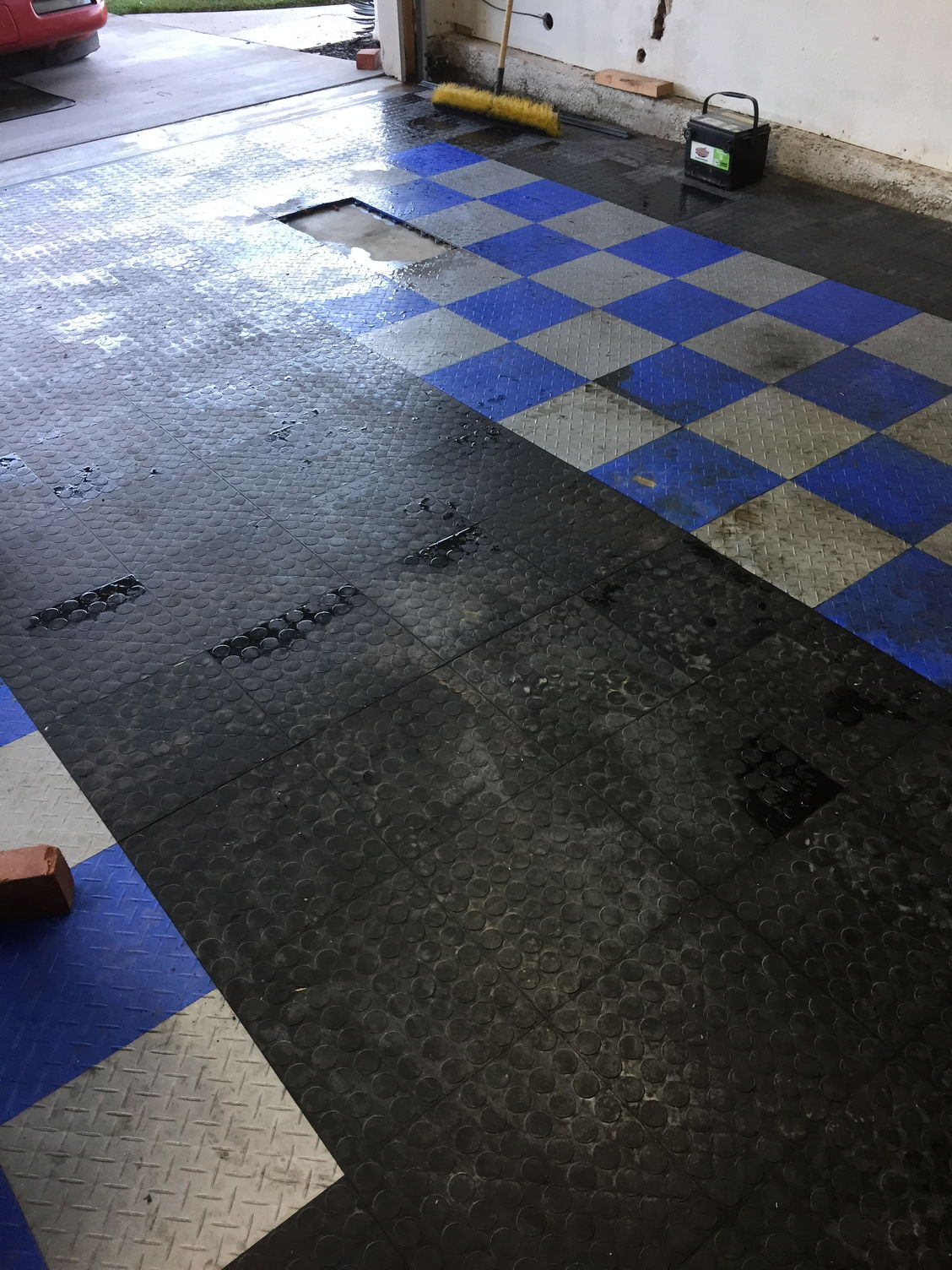 Race deck garage flooring how are you guys keeping it for How do you clean a garage floor