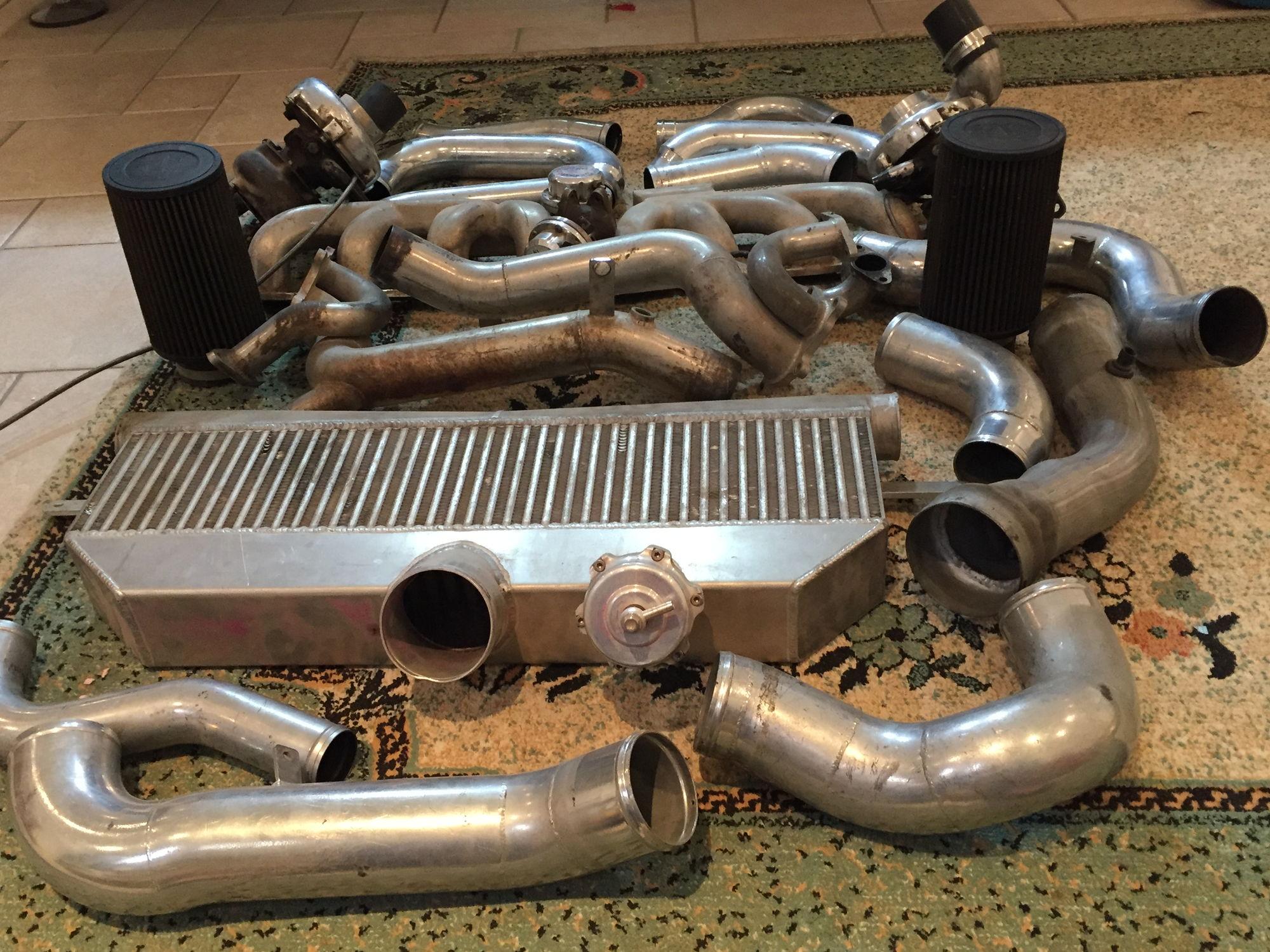 For sale used ttix twin turbo kit for corvette c5 or z06 zo6