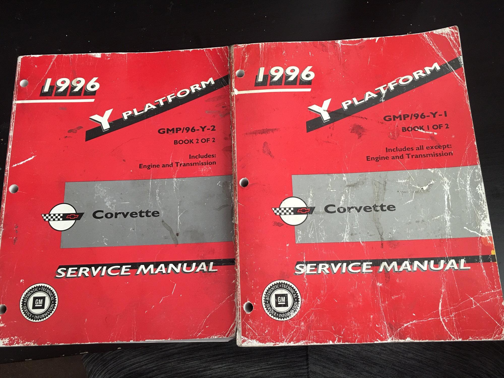 Fs  For Sale  1996 Gm Factory Repair Manual  2 Book Set