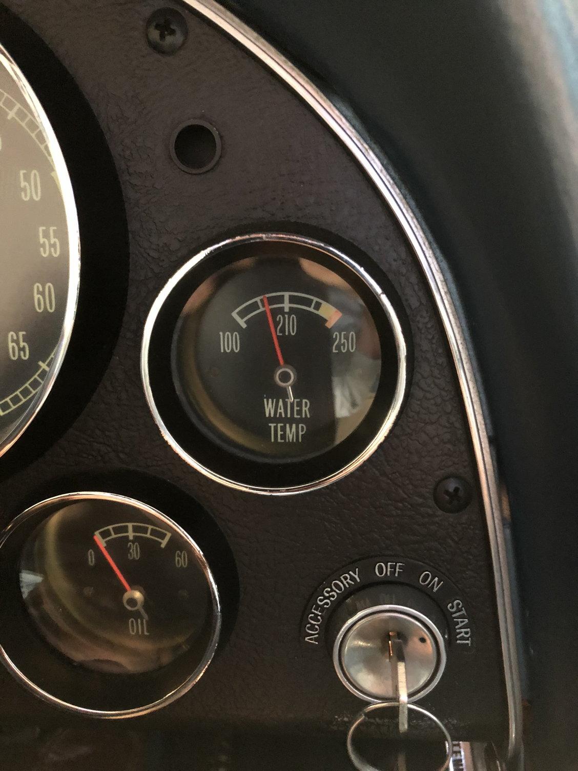 C2 Got my temp gauge reading more accurate  - CorvetteForum