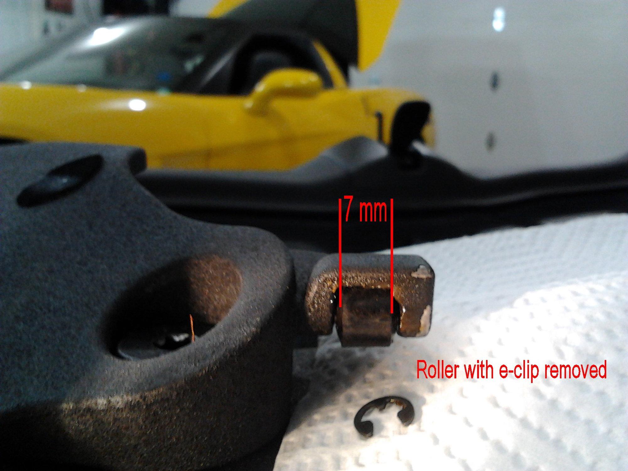 How To Fix A Noisy Removable Top On A C6 Corvette Coupe Corvetteforum Chevrolet Corvette Forum Discussion