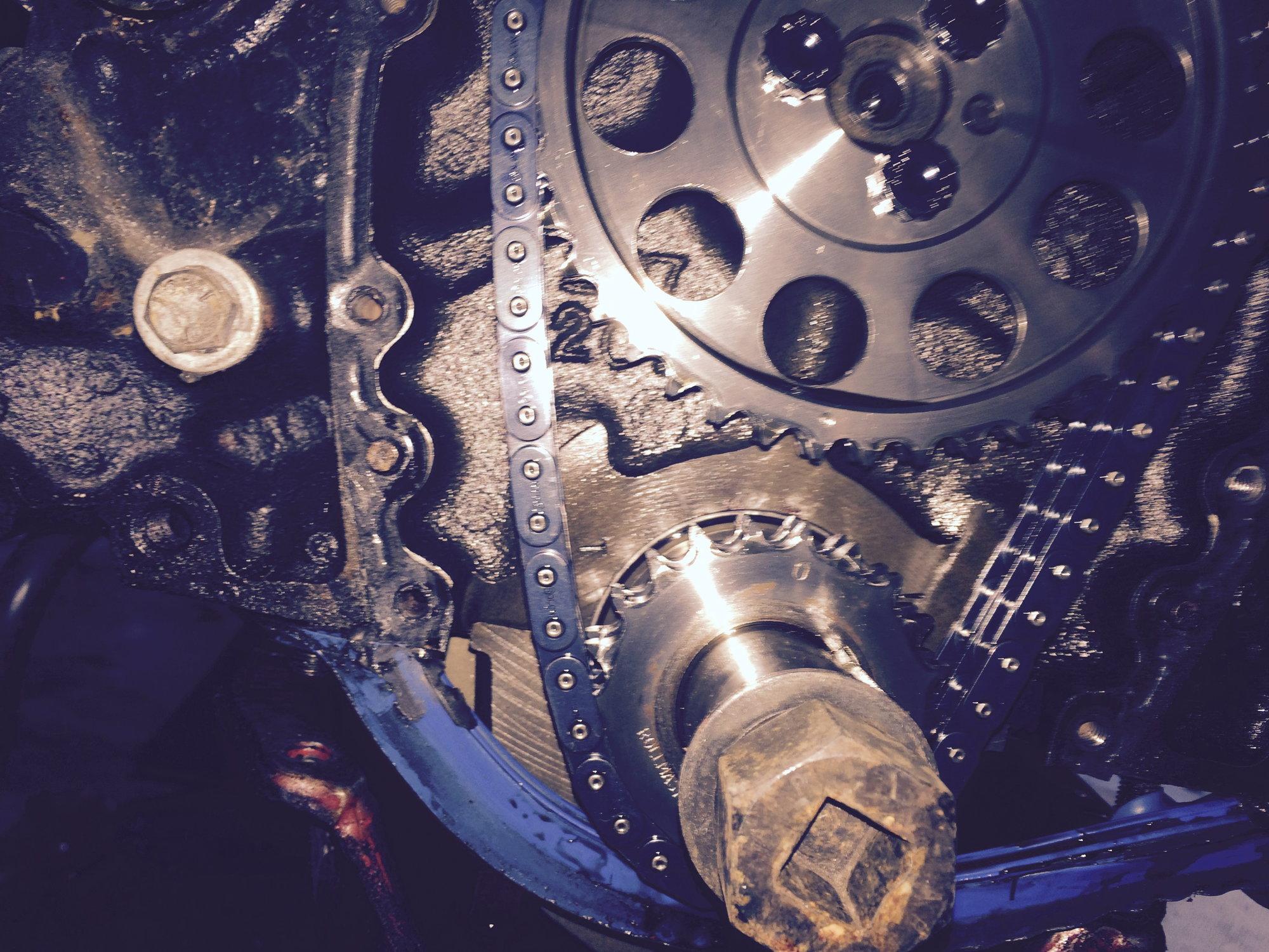 Timing Chain too loose? - CorvetteForum - Chevrolet Corvette Forum