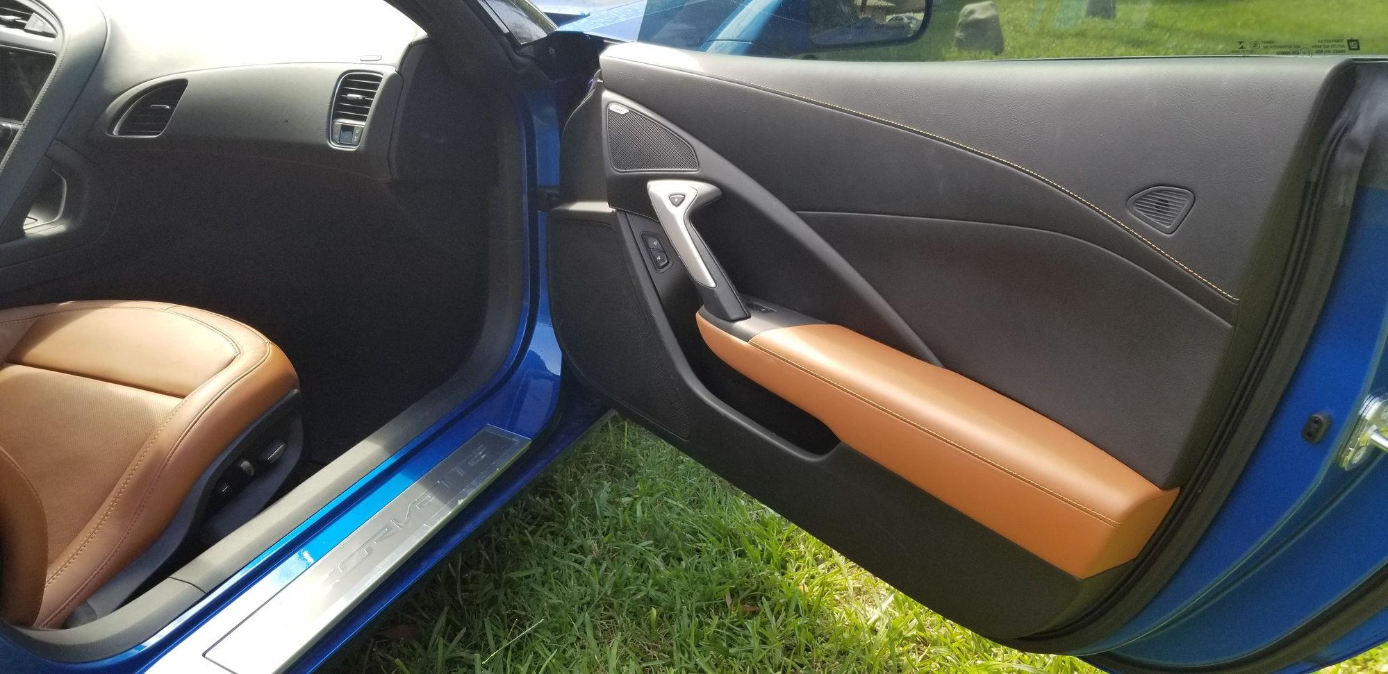 Fs For Sale 2016 Corvette 2lt Laguna Blue Kalahari M7