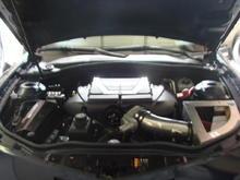 2010 SS Camaro Installed Edelbrock Supercharger Eibach lowering Springs Stainless Works Long Tube headers