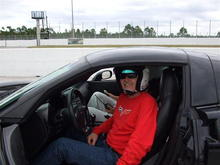 """Hooked on Driving"" corvette driving school at PBIR
