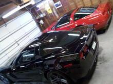 Garage - the car