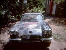 1976.  A few months after purchase and right after that bubble was cut out of the hood.
