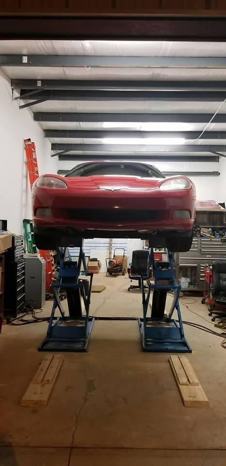 Anyone use portable 2 post car lifts? - CorvetteForum