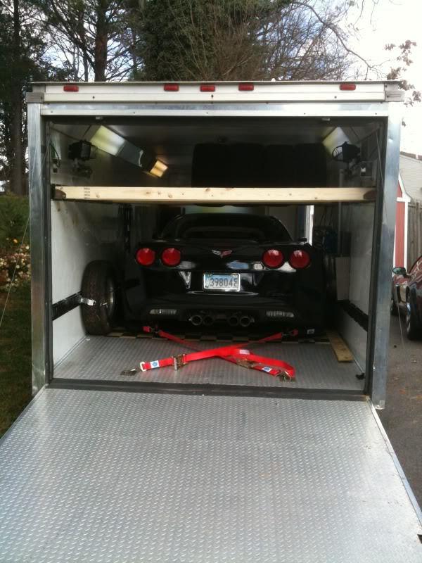 Opinions On Open Vs Enclosed Car Trailer Corvetteforum