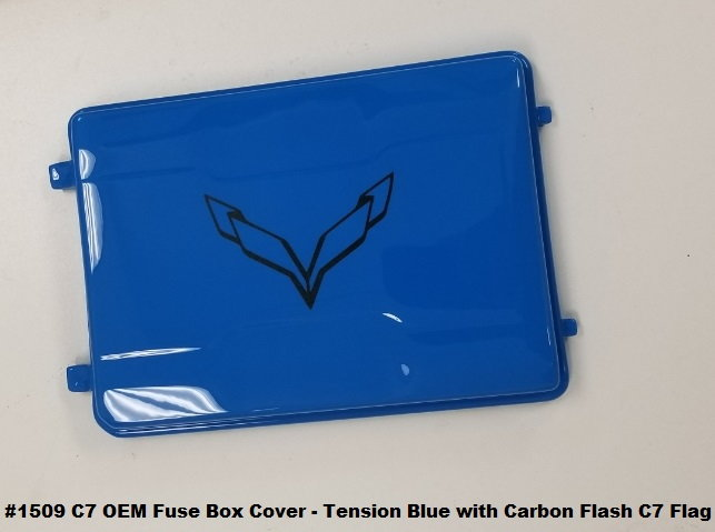 Custom Painted Fuse Box Covers from American Hydrocarbon ... on