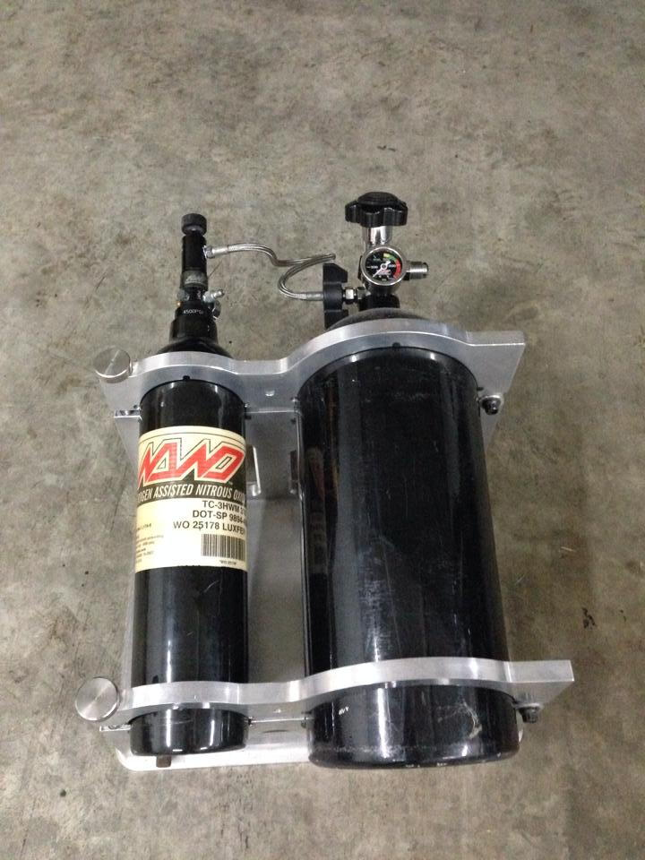 NANO Nitrous kit with N20 bottle and bracket