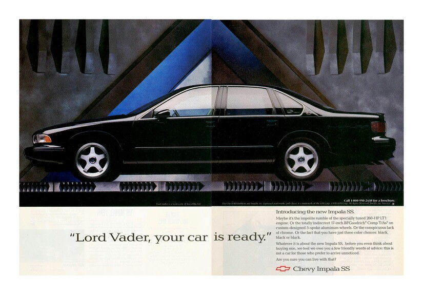 What Car Would Darth Vader Drive Corvetteforum