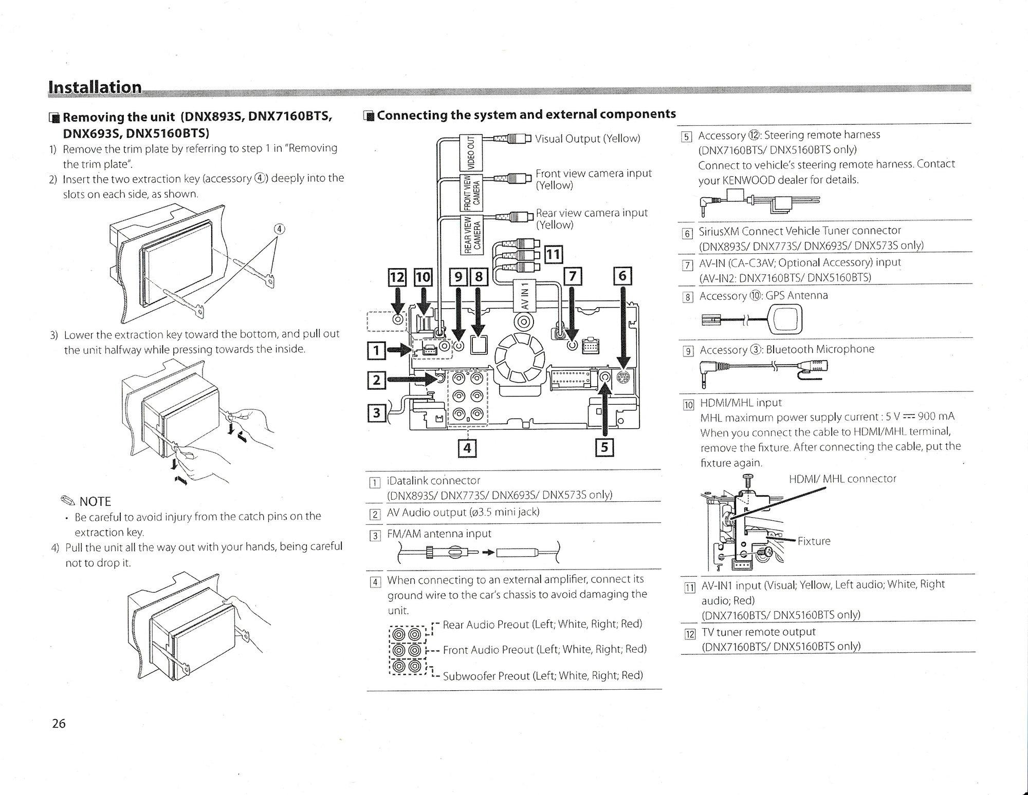 Kenwood Deck Wiring