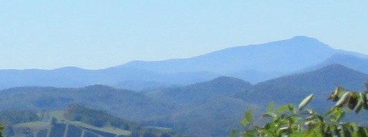 Blue Ridge Mountains ..