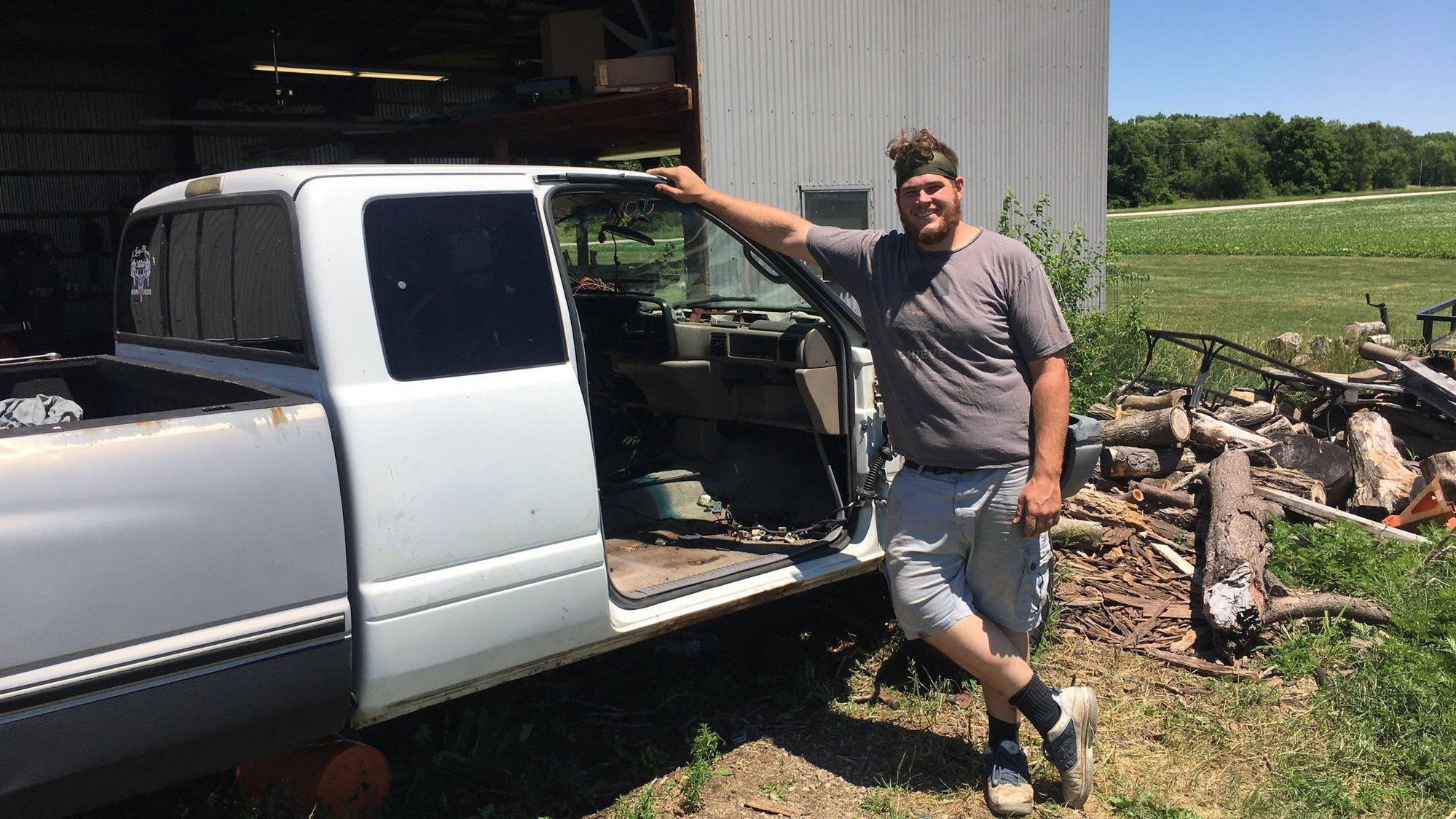 just another 12 valve cab swap diesel bombersposing with success