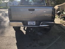 New taillights and plates