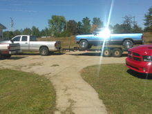 All my trucks I have an a ditch an addition