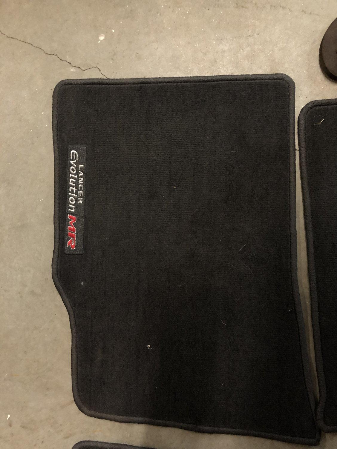 2006 Mitsubishi Lancer Evolution Mr >> Evo 9 MR floor mats - EvolutionM - Mitsubishi Lancer and ...