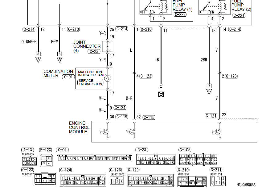 Wiring Diagram For Evo 8-9 Gauge Cluster
