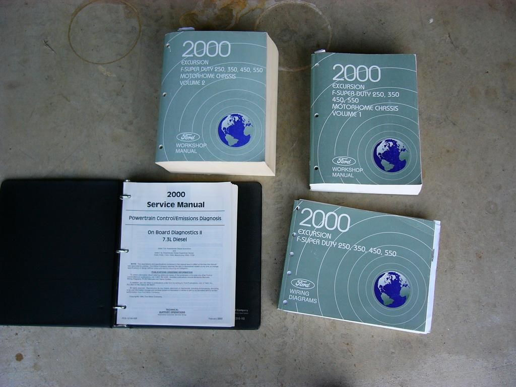 Texas 2000 F250 Service Manuals And Owner Guides W  Diesel