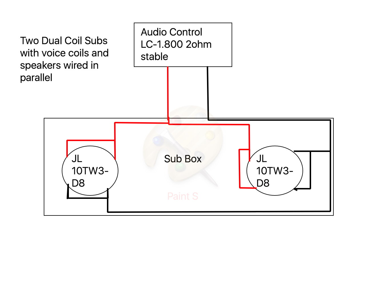Parallel Wiring Diagram For Subs