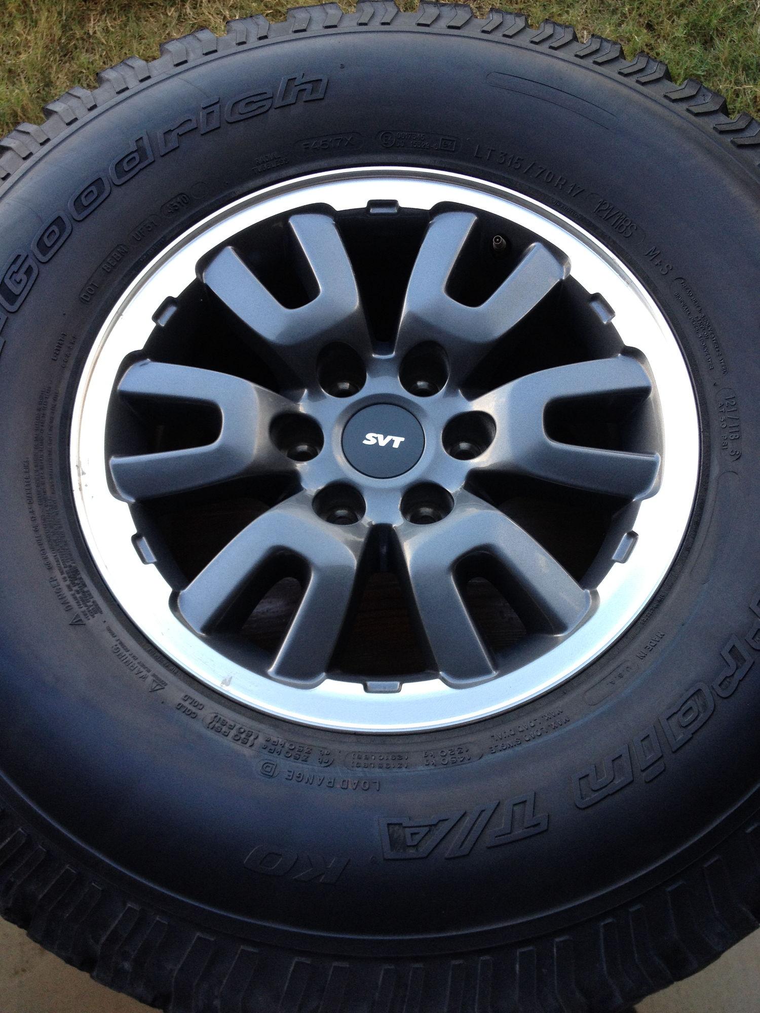 Southeast Raptor Svt Wheels 1st Gen Ford F150 Forum