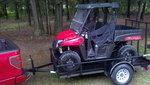My New addition:  2014 Polaris Ranger 570